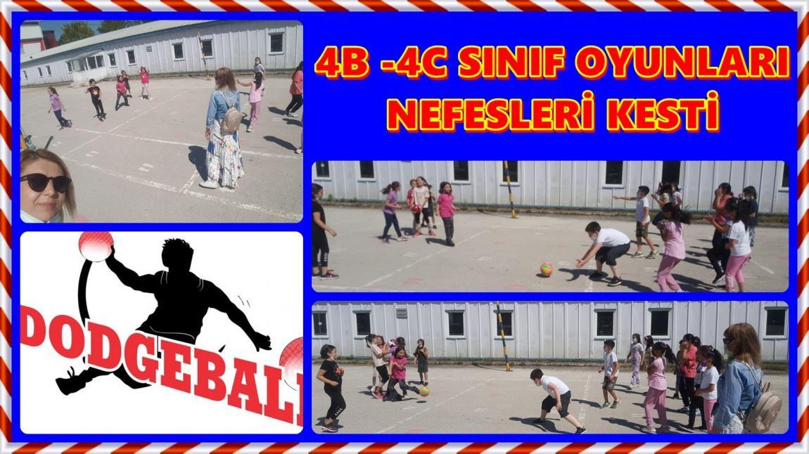 4B-4C OYUN YARIŞLARI BAŞLADI. DODGEBALL'la  (YAKAN TOP) START VERİLDİ. AFFERİN ÖĞRENCİLERİMİZE.